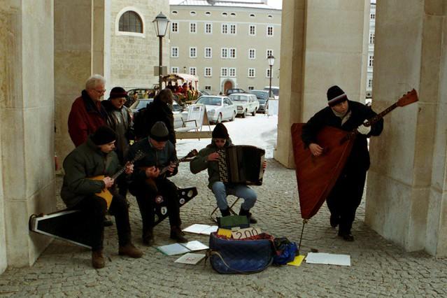 Musical Ensemble - Salzburg Christmas Market, Austria