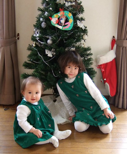 Christmas dresses from Grandma