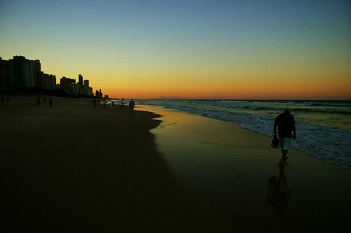 Sunrise, Sunset, Gold Coast, Australia