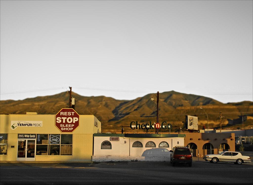 Alamogordo Rest Stop Sleep Shop