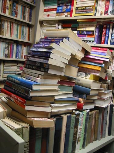 Crazy cart o'books