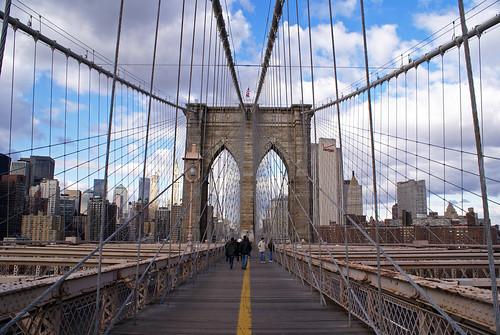 Take a walk at Brooklyn Bridge  - Things to do in New York City