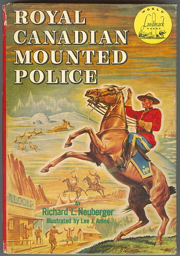 Royal Canadian Mounted Police, 1953.
