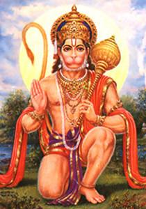 Multi-faceted Hanuman