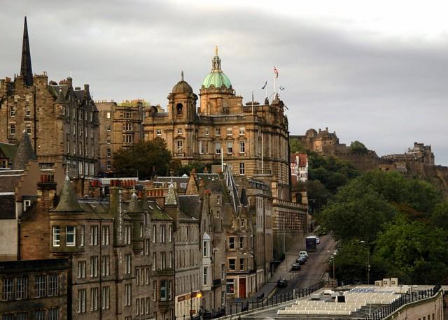 Downtown Edinburgh