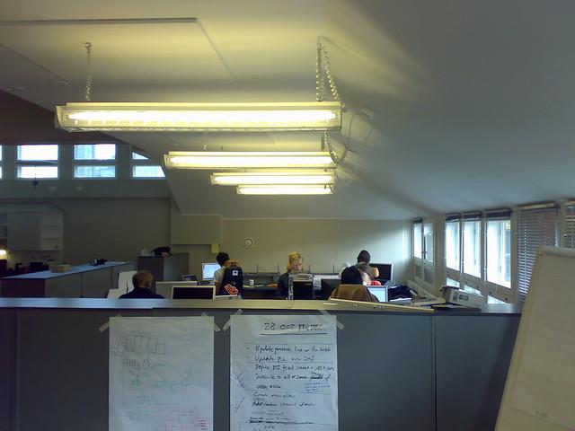 Una oficina de Finlandia