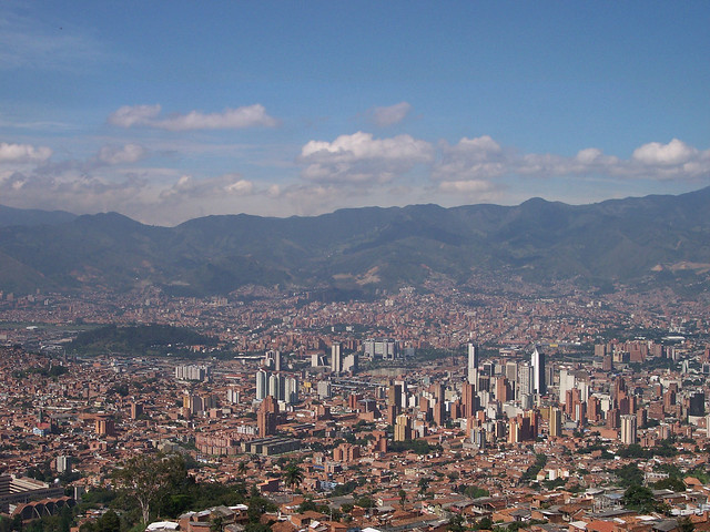 Medellin, Colombia city views by flickr user jduquetr