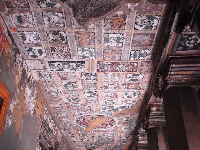 Ajanta caves mural paintings flickr photo sharing for Ajanta mural painting