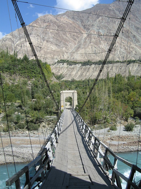 Bridge over the Gilgit river