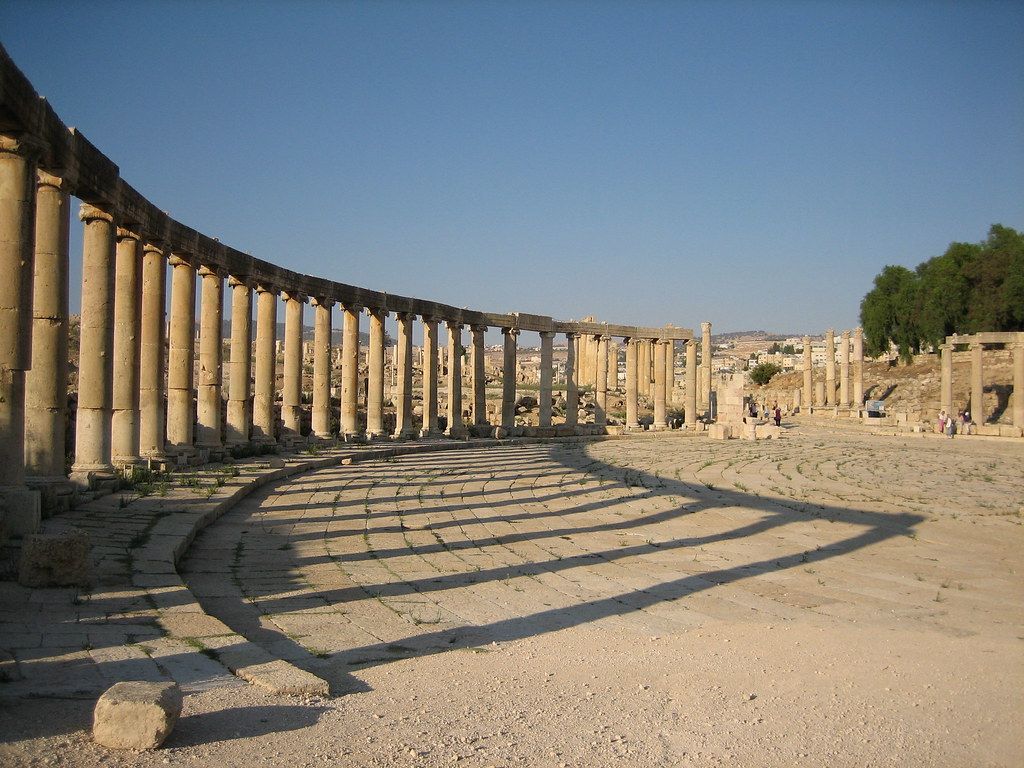 The Ancient City of Jerash; photo courtesy of Douglas Perkins on Flikr