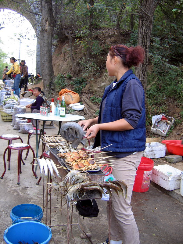 People: Street vendor