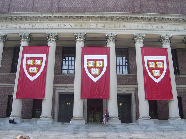 Harvard College. Photo: Flickr/Matthew Boyer