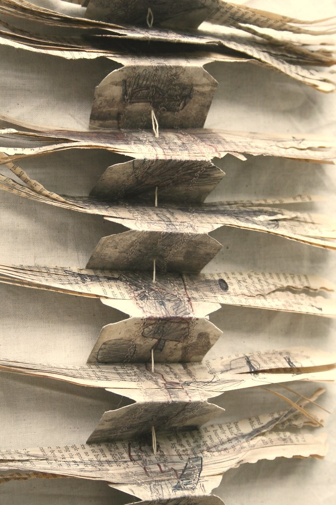 book on a string (detail)