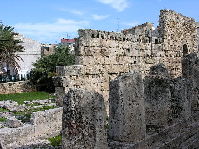 Temple of Apollo, Siracusa