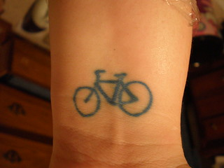 bike tattoo