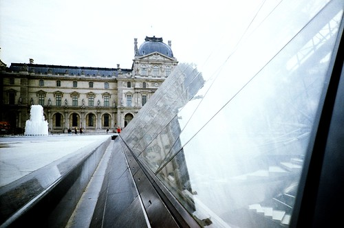 reflecting louvre