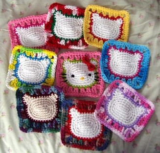 crochet granny square bag on Etsy, a global handmade and