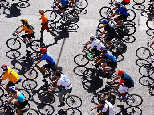 bici shadows