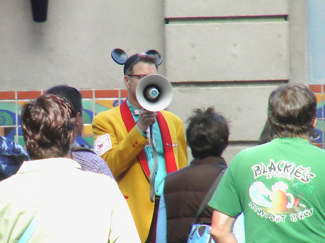 Mickey Mouse Tour Guide