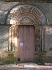 porte église (CHAPEAU,FR03)