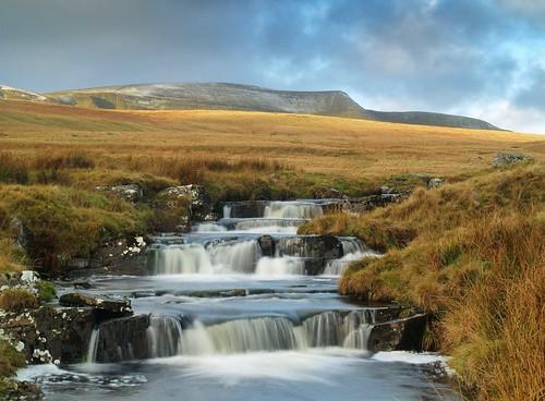 Fan Hir and waterfalls