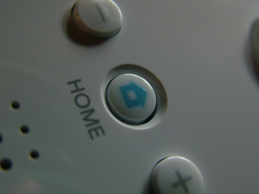 Wii Home button