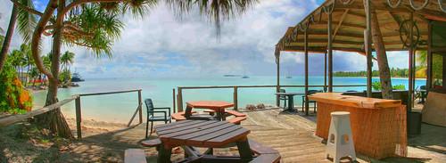 beach island kwajalein hdr namur roi atoll kwaj