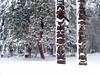 Snow totems by rocketrobin