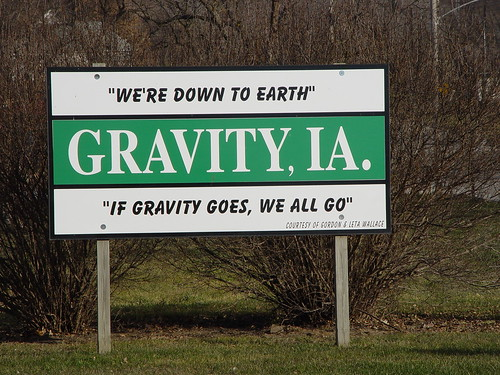 If Gravity Goes . . .