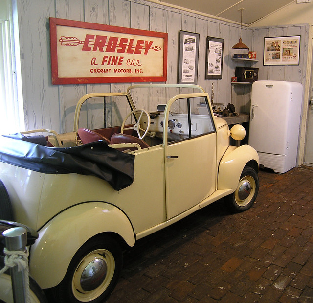 Crosley Car and Refrigerator