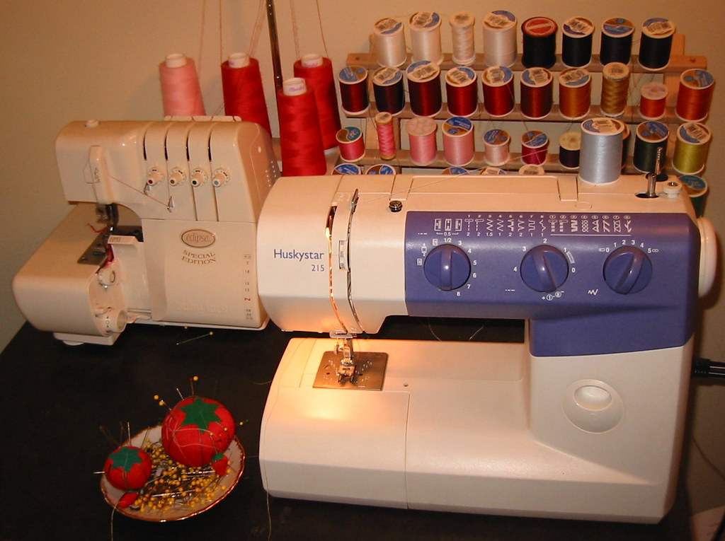 My sewing machine--a Huskystar 215