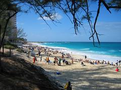 beach on paradise island
