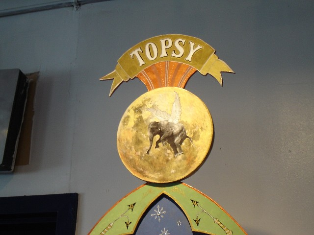Topsy the Elephant.