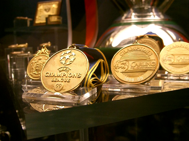 The Champions League Winners' Medal (Manchester United Museum)