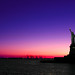 Lady Liberty at Sunset, New York, NY by Grufnik