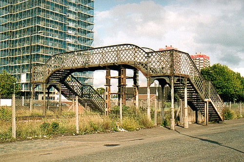North Eastern Footbridge over North London Line. | Flickr - Photo ...