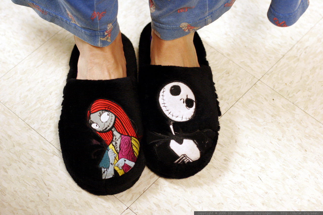 photo: nightmare before christmas slippers MG 3137 - by 43927576@N00
