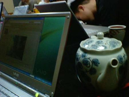 Photo:first tatamilab's seminar By hiroohi