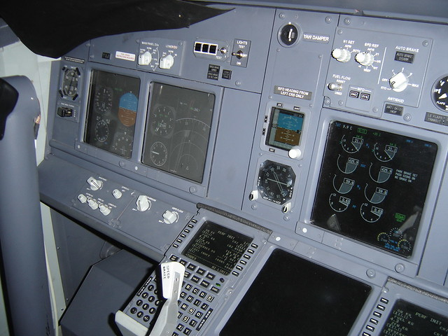 DSC08835 | View of the displays  737-700 simulator, located … | Flickr