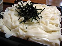 Kishimen Noodle at Kishisen, Nagoya