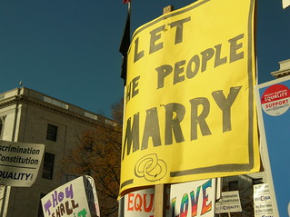 gay marriage protest