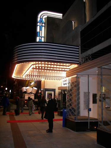 Marquee, Atlas Performing Arts Center