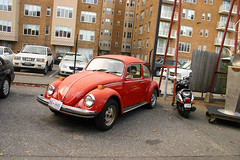 automobile, volkswagen beetle, wheel, vehicle, automotive design, city car, volkswagen type 14a, antique car, vintage car, land vehicle, motor vehicle, classic,