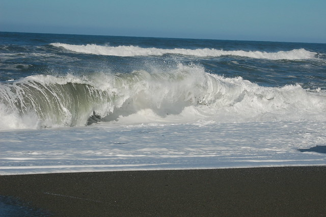Pacific Ocean waves, Humboldt County, Northern California ... Pacific Ocean Waves