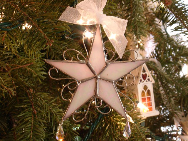 Stained glass christmas ornaments flickr photo sharing