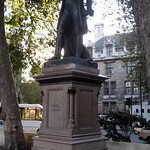 UK - London - Westminster: Parliament Square - Robert Peel statue