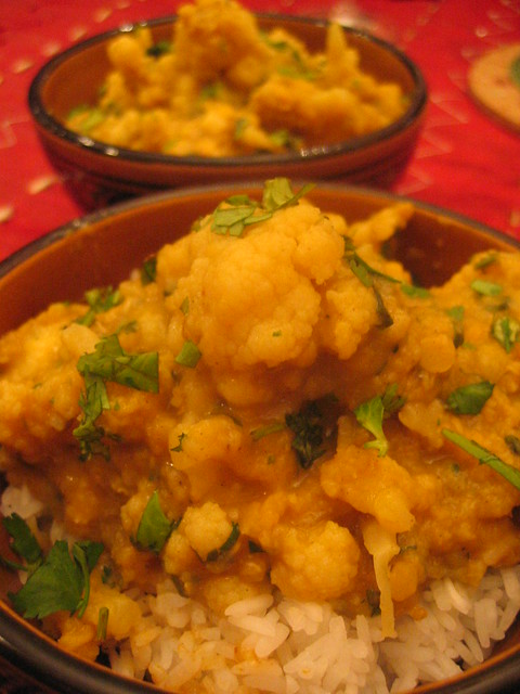 red_lentil_cauliflower_curry | Flickr - Photo Sharing!
