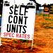 Self Cont Units (Spec Rates)