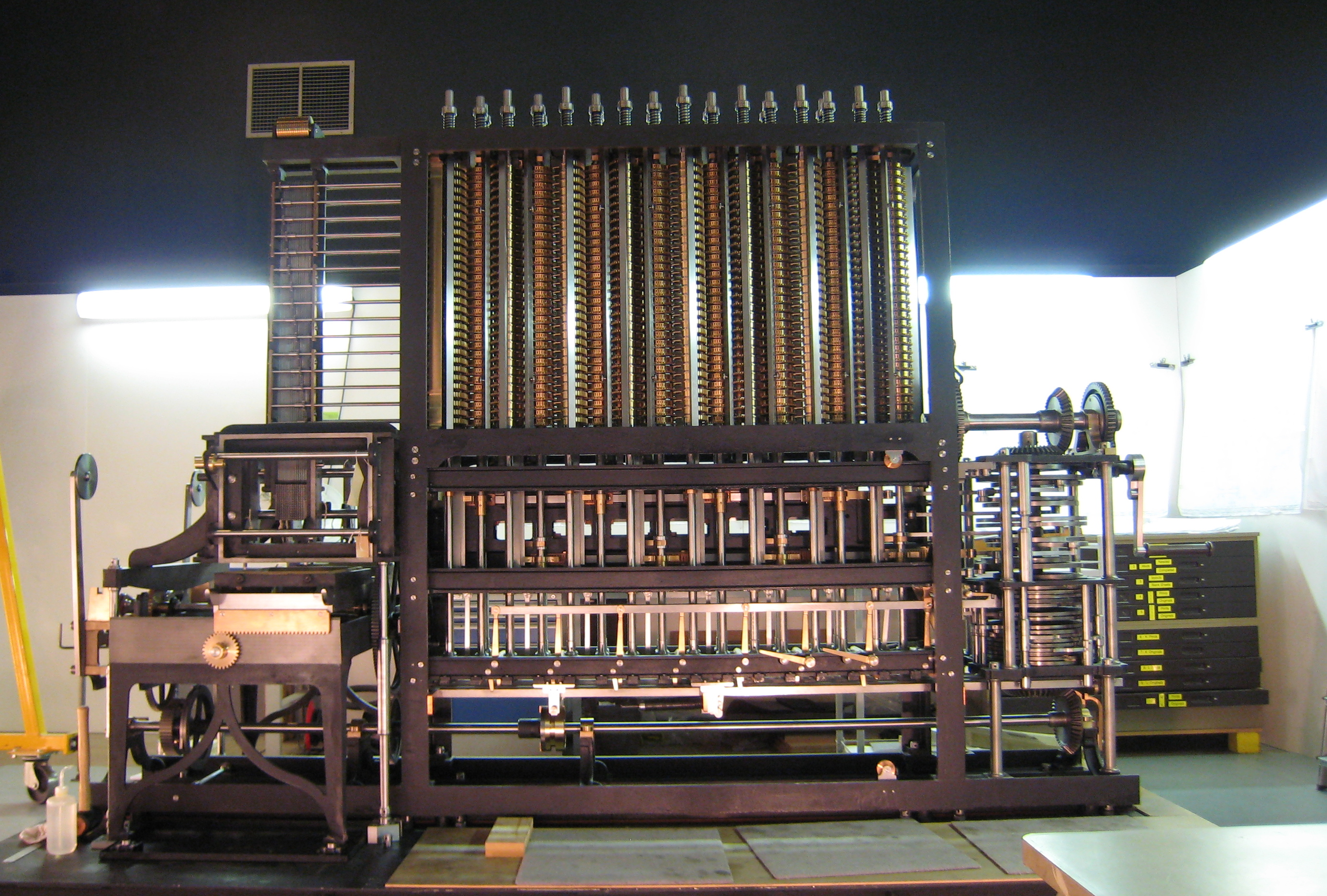 The Babbage Difference Engine in High Resolution ... |The Difference Engine