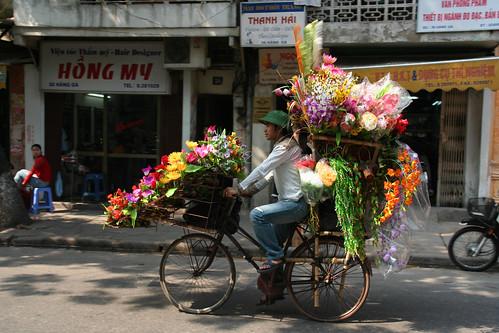 Transport kwiatów